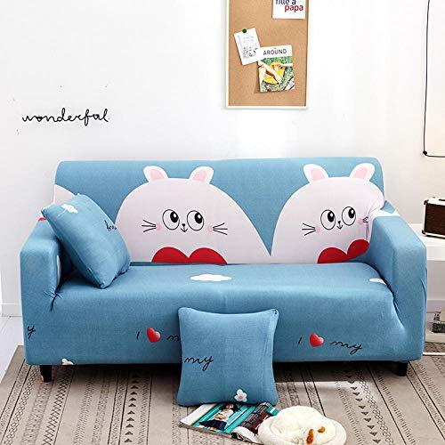 Funda de Sofá Poliéster,Funda de sofá elástica, funda de cojín de sofá antideslizante todo incluido, funda de protección de polvo de sofá universal para todas las estaciones-Color 8_145-185cm