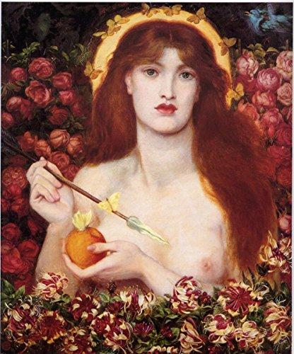 Gifts Delight Laminated 22x26 Poster Dante Gabriel Rossetti - Venus Verticordia