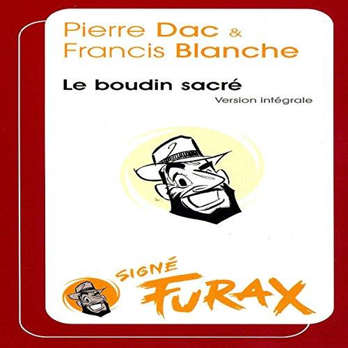 Le boudin sacré audiobook cover art