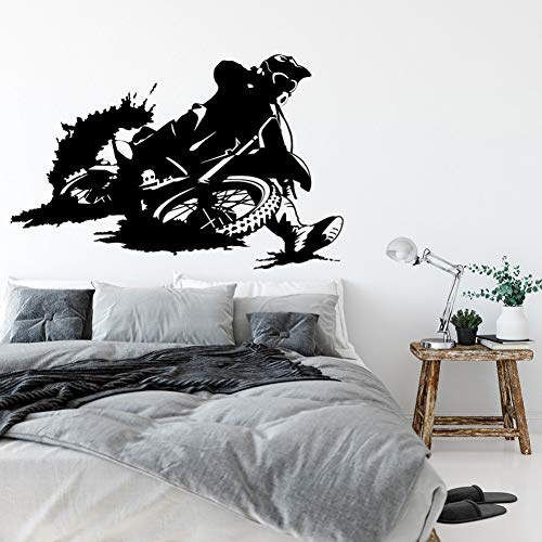 YCEOT 88 x 57 cm wandsticker van vinyl room decoratie wanddecoratie garage wandsticker boy room decoratie