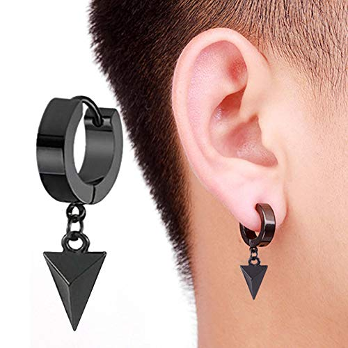 Afdiscount Women Earrings, Geometric Large Dangle Dot Stud Long Pendant Earchain Lady Jewelry Valentine's Day Birthday Jewelry Gifts for Ladies Girls (C)