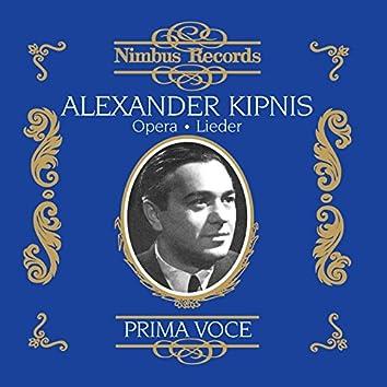 Alexander Kipnis in Opera and Lieder