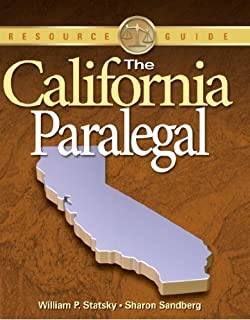 The California Paralegal (Paralegal Reference Materials) by William P. Statsky (2007-08-03)