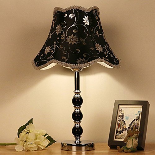 E27 beige SKC Lighting-tischlampe Nordic Tischlampe Schlafzimmer Crystal Lamp Hotel Nachttischlampe Kristall Tischlampe