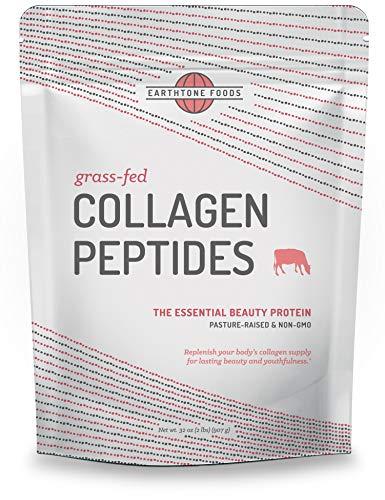 Collagen Peptides Powder (32 oz) | Paleo-Friendly Hydrolyzed Grass-Fed Non-GMO Protein
