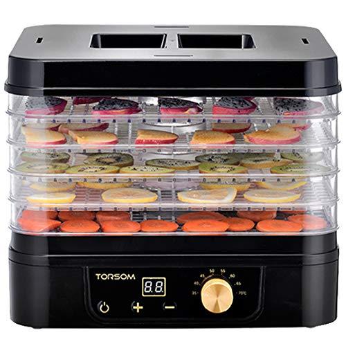 SHIJING Trockenobst Maschine Lebensmittel Trockner Lebensmittel Dehydration Trockner Dörrgerät Obst Gemüse Trockenfleisch Kleine Smart Booking LCD-Monitor