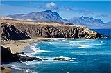 Poster 90 x 60 cm: Fuerteventura - La Pared von Andreas