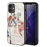 George Barbier Paral iPhone 12 Mini/Caja del teléfono Celular de Arte/Impresión Giclee UV en la Cubierta del móvil(Marte e Venere)