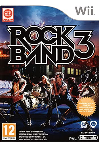 Electronic Arts Rock Band 3 - Juego (No específicado)