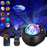 Star Projector Night Lights Sound Activated Galaxy...