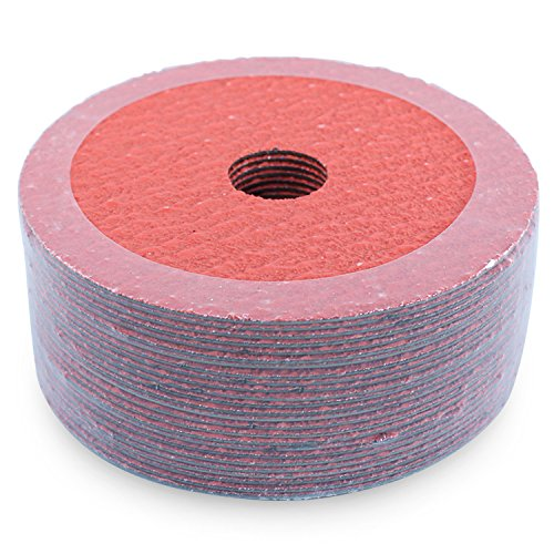 BHA Ceramic Resin Fiber Sanding and Grinding Discs, 4.5