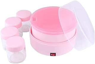 SJYDQ Automatique yogourt Machine numérique Yaourt Maker avec 4 Jars, Les contenants en Verre, Frais, sain Maison Yaourt