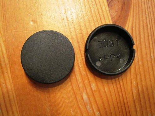 Peg Perego 1 Stück Radkappe Abdeckkappe schwarz für Rad Pliko P 3 (11) für Modelle 2011 bis 2012