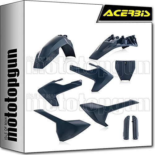 acerbis 0023056 kit plastico completo azul compatible con husqvarna tc 85 2021 21