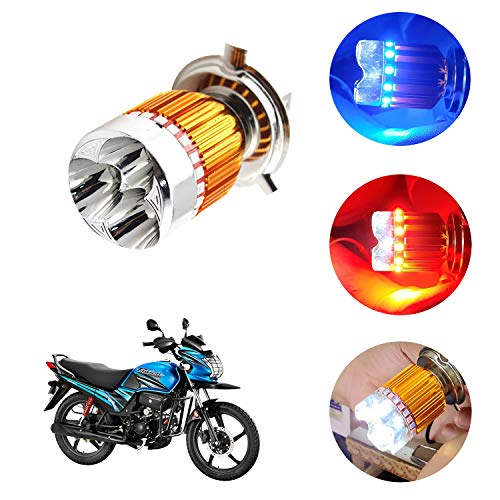 Kandid H4 LED Motorcycle Bike Headlight Bulb for Hero Passion PRO TR