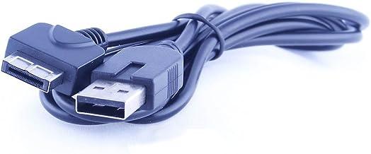 REY Cable Cargador USB para PS Vita PSVita, Modelo PCH-1000, Color Negro