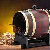 idalinya Barriles de Roble domésticos Barril de Madera, Barril de Roble, para Brandy para Vino