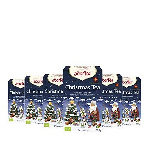 6er Pack Yogi Tee BIO Frohe Weihnachten Christmas Tea