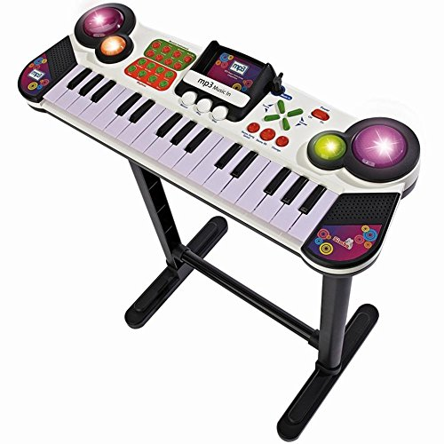 Simba 106832609 - My Music World Standkeyboard mit MP3 Funktion