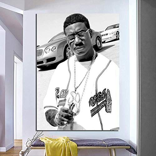 ysldtty Plakat Und Drucke Gucci Mane - Radric Delantic Davis Rapper Musikstars Leinwand Malerei Wandkunst Home Decor GA125 Rahmenlos 40cmx60cm