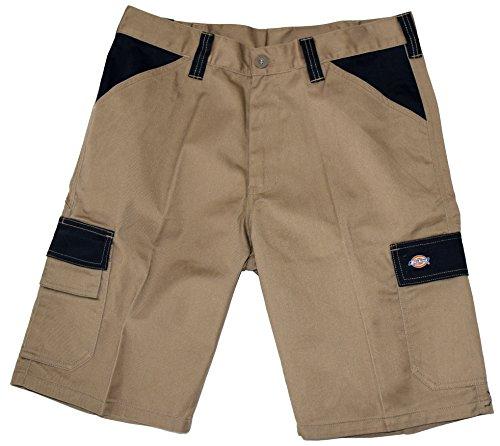 Dickies ED24/7 Shorts 2 Schenkeltaschen Kurze Hose (62, khaky/schwarz)