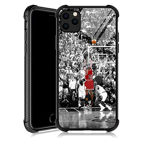 iPhone 11 Case, Basketball Legend YKL0A001 iPhone 11 Cases for Men Women Fans,Design Pattern Back Bumper Shockproof Anti Scratch Reinforced Corners Soft TPU Case for iPhone 11