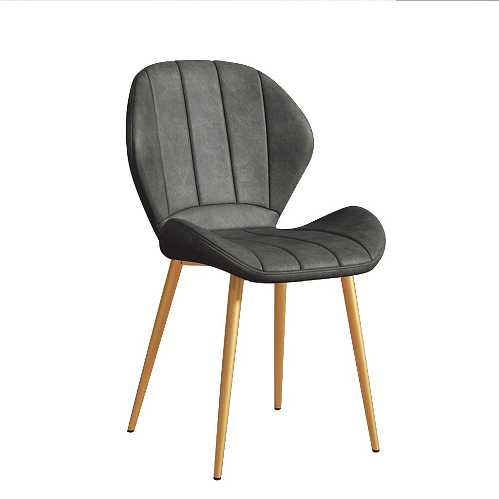 GYY Dining chairs Occasional Chairs with Faux Leather Seat and