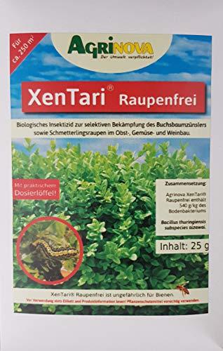 Agrinova Xentari gg. Buchsbaumzünsler, Eichenprozessionsspinner u.v.a. (25 g mit Dosierlöffel)
