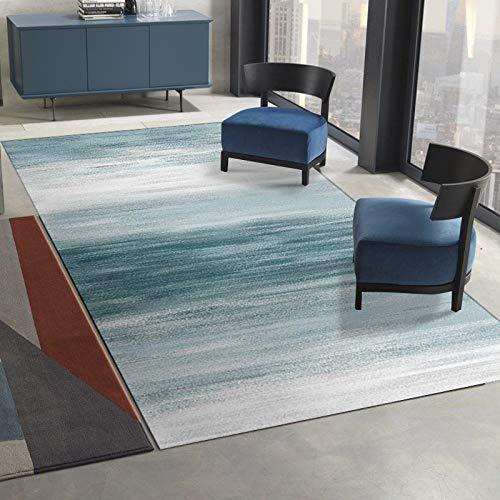 ZAZN Geometric Mosaic Carpet Simple Living Room Bedroom Coffee Table Cushion Sofa Blanket Bathroom Kitchen Door Mat Thick Non-Slip