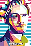 Notebook: Felix Arvid Ulf Kjellberg Known Online As Pewdiepie Is , Journal for Writing, College Ruled Size 6' x 9', 110 Pages