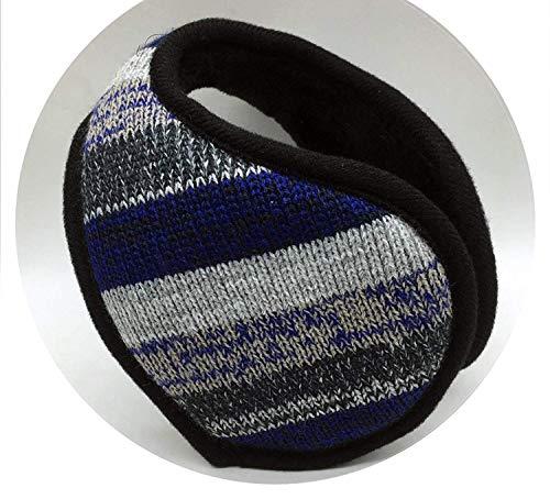 GJJSZ Estilo Winter Warmer Earmuffs Hombres Mujeres Calentador de Orejas de Punto sólido Espesar la orejera