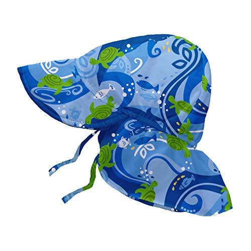 i play. Chapeau avec Panneau Blue Turtle Batik 0-6 Mois
