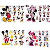 YUESEN Pegatinas Infantiles Pared Minnie Pegatinas Decorativas Pared mickey Mouse Stickers Pared Mickey Dormitorio Calcomanias para dormitorio de bebé y niños