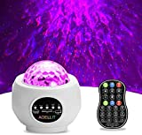 Galaxy Light Projector Star Projector Skylight for Bedroom Ceiling, LED Starlights Music Sky Light Starry Night Light Planetarium Nebula Cove Projector for Kids and Adults, White
