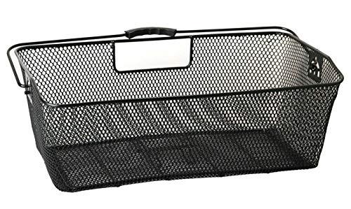 LTJ 030015 XXL Fahrradkorb Draht Gepäckträgerkorb Korb für Gepäckträger