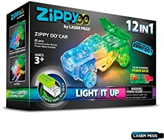 Laser Pegs Zippy Do 12 in 1 Building Set