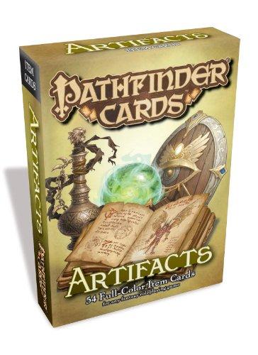 Pathfinder Cards: Artifact Item Cards