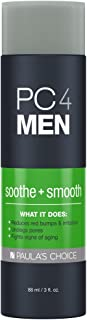 Paula's Choice PC4MEN Soothe + Smooth Aftershave Treatment & Exfoliant for Men with Salicylic Acid, Non-Drying & Fragrance Free, 3 Ounce