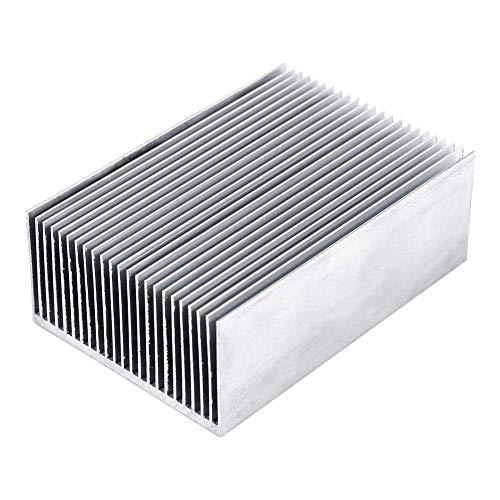 1 pc Aluminium Kühlkörper Kühlung Fin Kühler Für Led-verstärker Transistor IC Modul Oder Computer, 100 (L) x 69 (B) x 36mm (H)