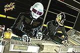 Daft Punk/Decks Poster Drucken (91,44 x 60,96 cm)
