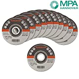 AREBOS Metal Cutting Discs Flat 50-Pack 115 x 1 x 22.2mm