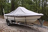 Vortex Heavy Duty Grey/Gray Center Console Boat Cover for 17'7' - 18'6' Boat 1 to 4 Business Day DELIVERY