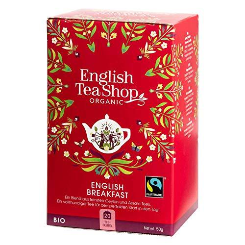 English Tea Shop - English Breakfast, BIO Fairtrade, 20 Teebeutel - (DE-Version)