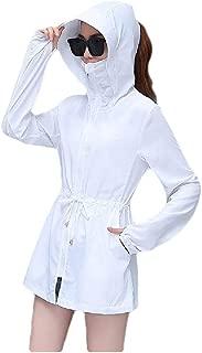 Mogogo Womens Light Weight Sunscreen Beach Coat Jacket UV-Protection Jacket