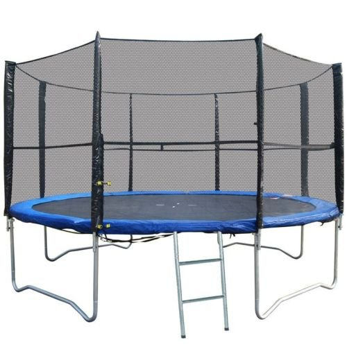 BodyRip PREMIUM BOUNCE Trampoline Safety 10FT NET (for 8 pole trampolines)