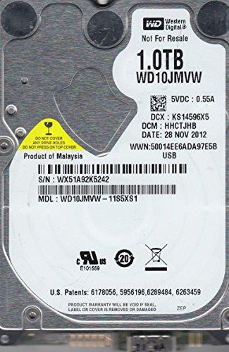 WD10JMVW-11S5XS1, DCM HHCTJHB, Western Digital 1TB USB 2.5 Disco Duro