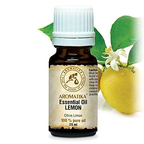 Aceite Esencial de Limón 20ml - Citrus Limon Sin Diluir - Italia...