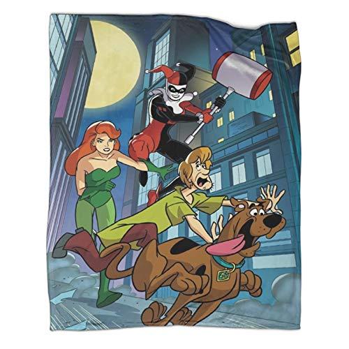 Xaviera Doherty Scooby DooJoy Limited schwere Decke, 100 x 130 cm, weiche und bequeme Bettdecke, Kinderbettwäsche