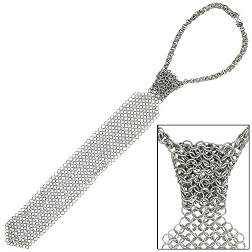 Medieval Body Armor Armour Chainmail Shirt Necktie