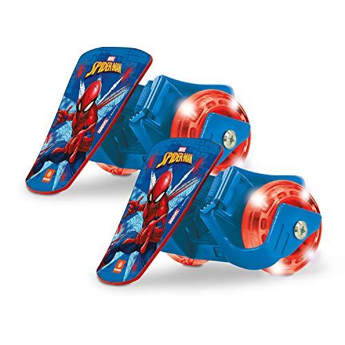 Mondo Toys - Spider Man Clip-On Skate - Rotelle da Scarpa -...